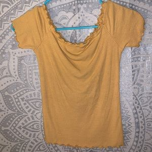 Charlotte Russe Off the shoulder top